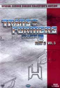 Transformers Season 2 Part 5 DVD