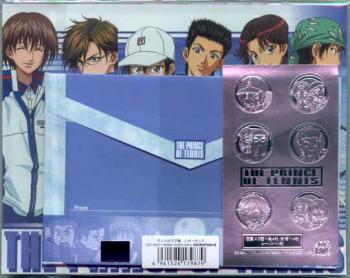 Tennis no ojisama letter set Anime edition