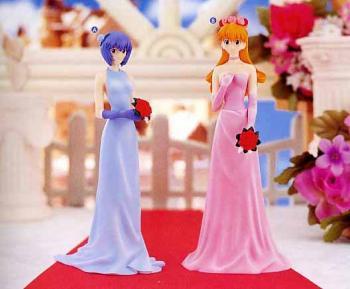 Shin Evangelion Wedding figure B Asuka