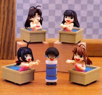 Love Hina Punch diorama figure A - Naru