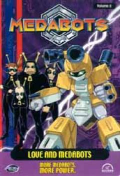 Medabots vol 08 Love and Medabots DVD