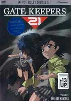 Gatekeepers 21 vol 1 Invader hunters DVD