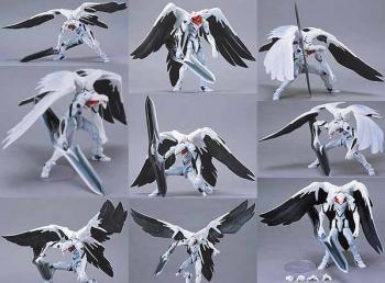 Neon genesis evangelion EVA Mass production Wings Action figure