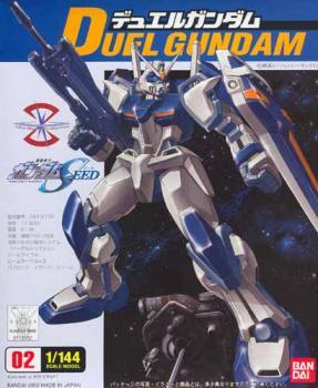 Gundam Seed Model kit 1/144 Duel Gundam