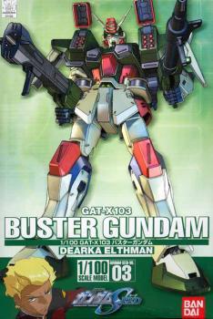 Gundam Seed Model kit 1/100 Buster Gundam