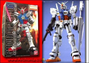 Master Grade Series GUNDAM Model Kit Gundam GP-01