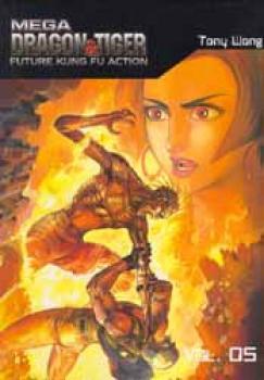 Mega Dragon & Tiger: Future Kung Fu Action GN 5