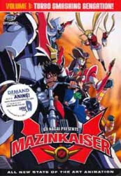 Mazinkaiser vol 1 DVD