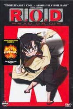 R.O.D. Read or die DVD