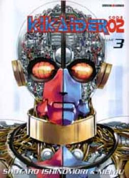 Kikaider02 (Code Zero Two) tome 3