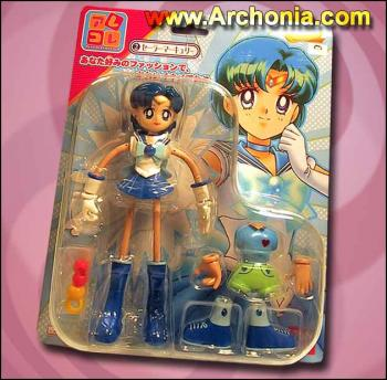 Sailor Mercury Spaghetti action figure