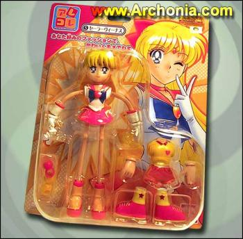 Sailor Venus Spaghetti action figure