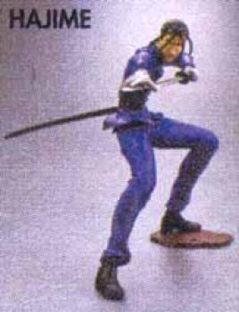 Rurouni Kenshin Mini figure Hajime Saito