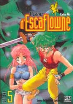 Vision of Escaflowne tome 5