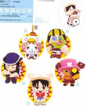One piece doll part 2 Case of 76 pieces