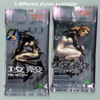 Ghost in the shell 1 and 2 Man machine interface Trading card pack