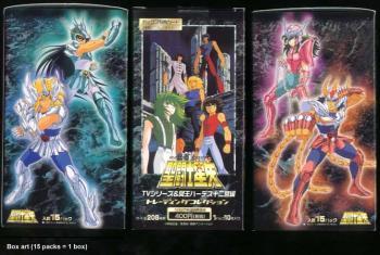 Saint Seiya TV series Hades Trading card pack