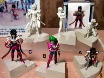Saint Seiya Diorama figure C