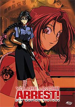 You are under arrest Motion picture DVD