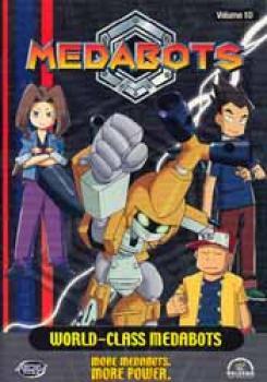 Medabots vol 10 DVD