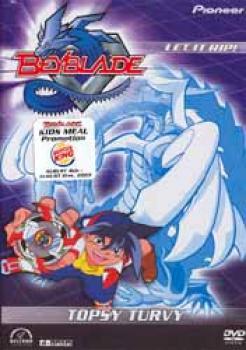 Beyblade vol 4 Topsy turvey DVD