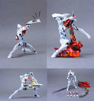 Neon genesis evangelion EVA Mass production No wings Action figure