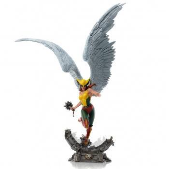 DC Comics Deluxe Art Scale Statue - Hawkgirl 1/10