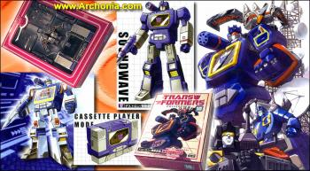 Transformers re-issue 10 Soundwave