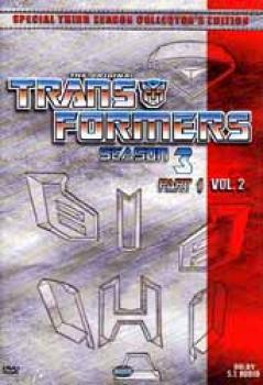 Transformers Season 3 Part 2 DVD