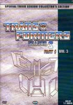 Transformers Season 3 Part 3 DVD