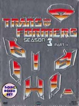 Transformers Season 3 Box set 1 DVD
