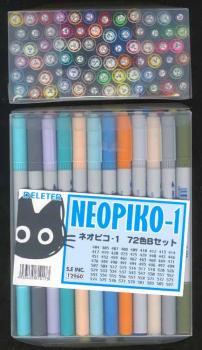 Neopiko Technical set 72 color set B