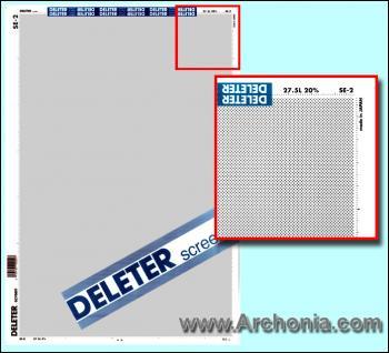 Deleter screen SE-002