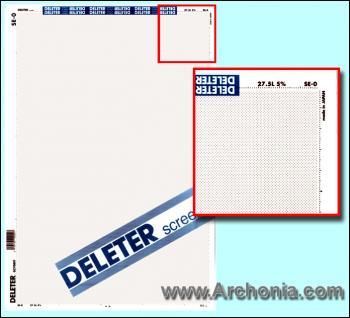 Deleter screen SE-000