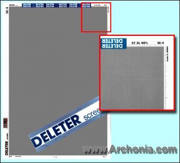 Deleter screen SE-004