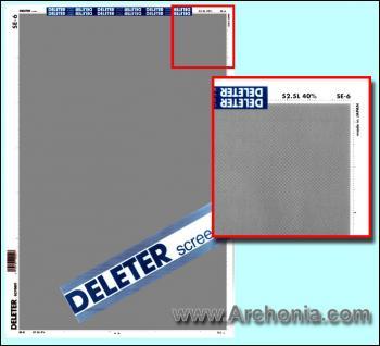 Deleter screen SE-006