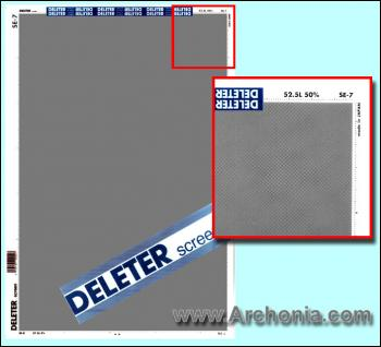 Deleter screen SE-007