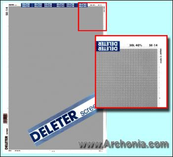 Deleter screen SE-014