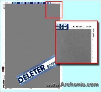 Deleter screen SE-018