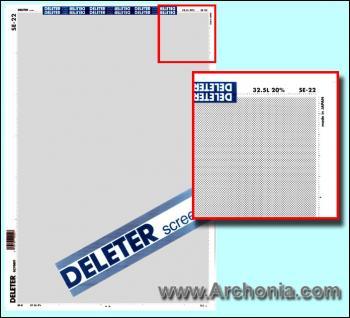 Deleter screen SE-022