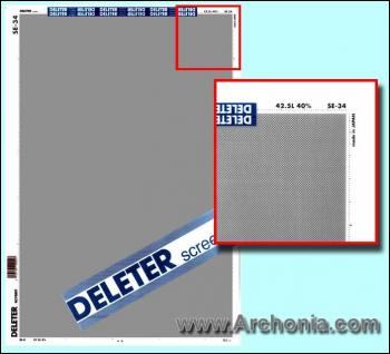 Deleter screen SE-034