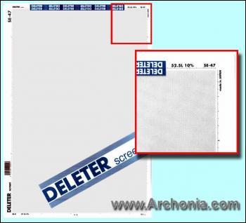 Deleter screen SE-047