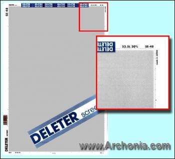 Deleter screen SE-048