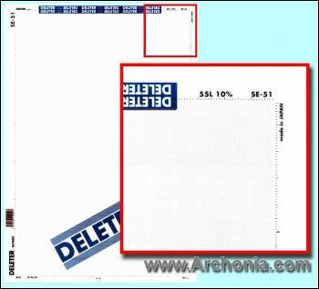 Deleter screen SE-051