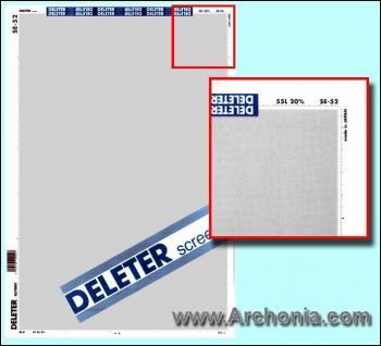 Deleter screen SE-052