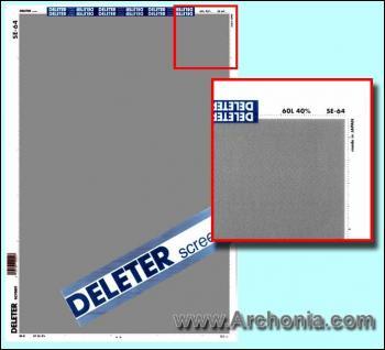 Deleter screen SE-064
