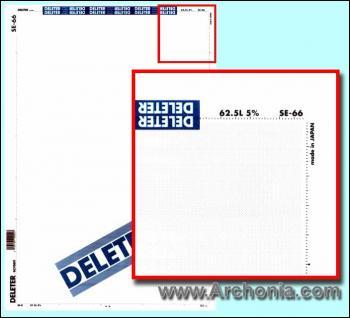 Deleter screen SE-066