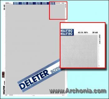 Deleter screen SE-068
