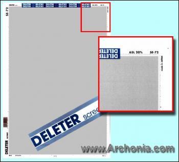 Deleter screen SE-072