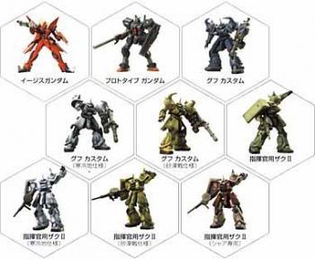 Gundam Ultimate operation 2 figures - Case of 40